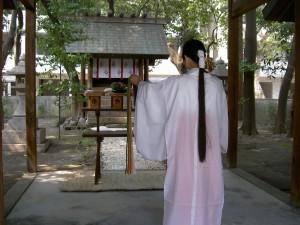 野々宮神社「御前神楽」奉納